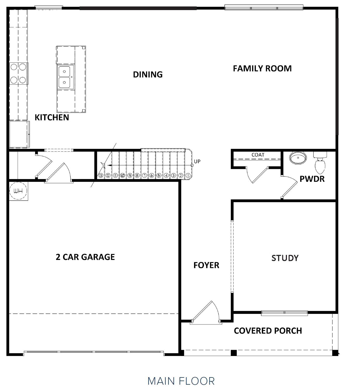 First Floor at Hunts Mill Estates