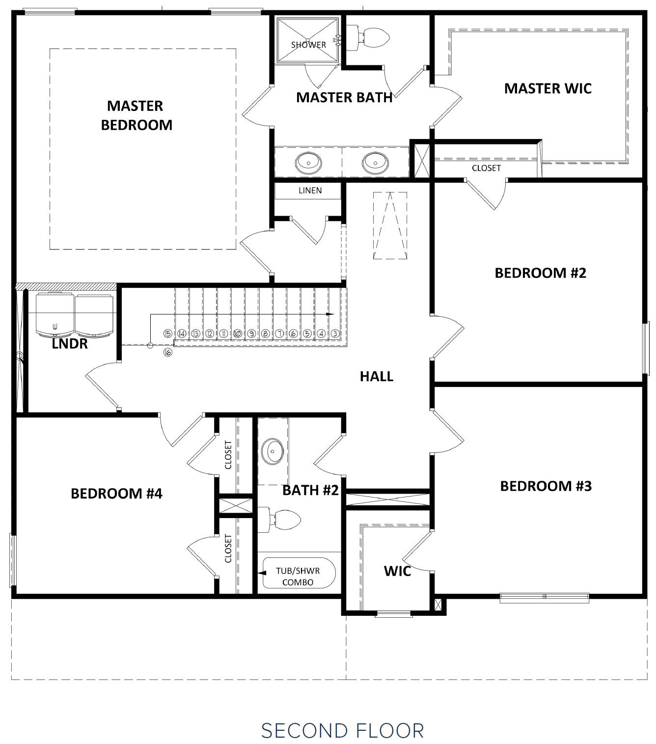 Second Floor at Hunts Mill Estates