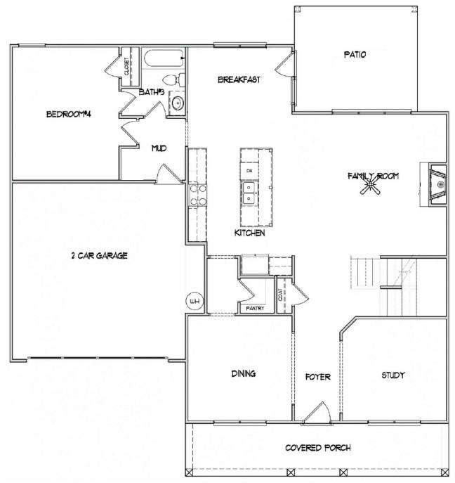 First Floor at Good Hope Estates