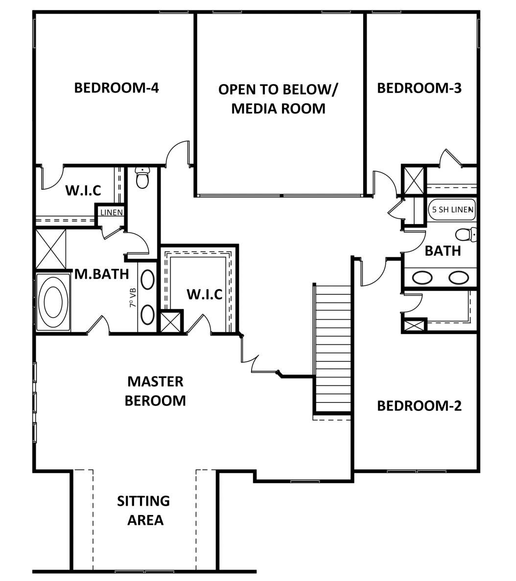 Second Floor at Estates at Cameron Manor