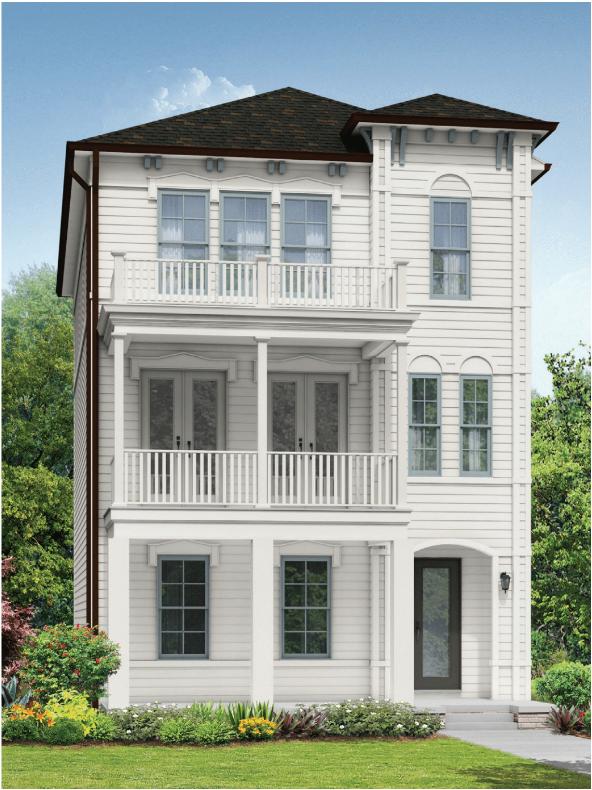 Rendering of new home in Alpharetta