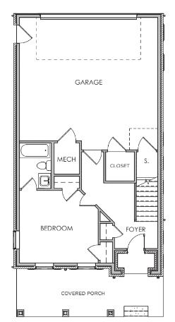 First Floor W/ Elevator & Prep / Closet