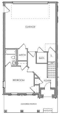 First Floor W/ Elevator