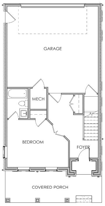 First Floor W/O Elevator & Prep / Closet