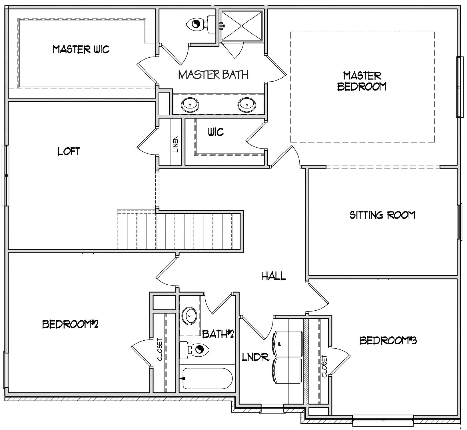Second Floor at Tuxedo Estates