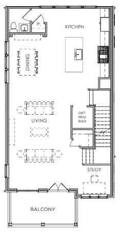 Second Floor W/ Elevator & Prep / Closet