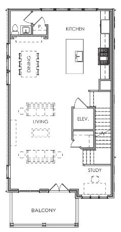 Second Floor W/ Elevator