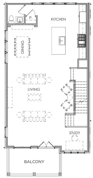 Second Floor W/O Elevator & Prep / Closet