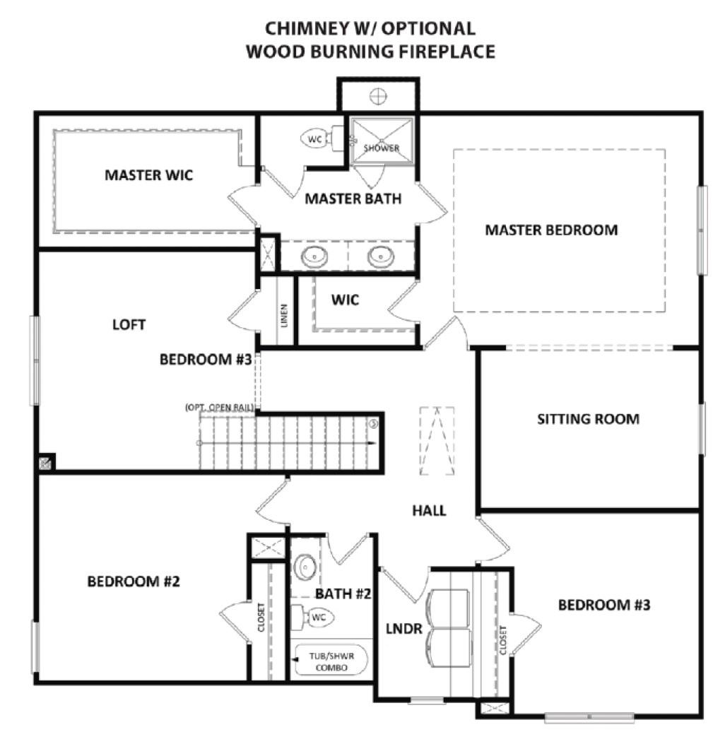 Second Floor at Vineyard Ridge
