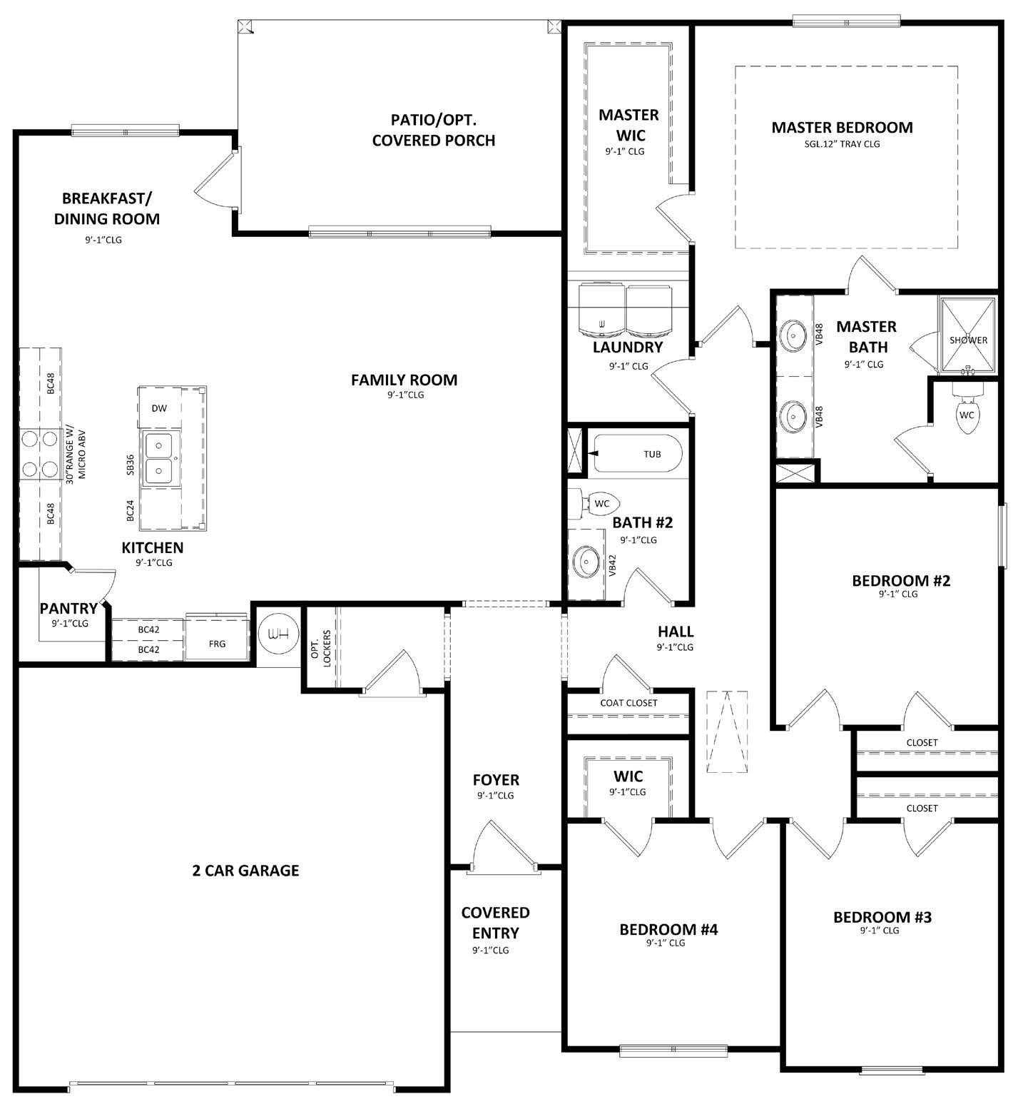 First Floor at Vineyard Ridge