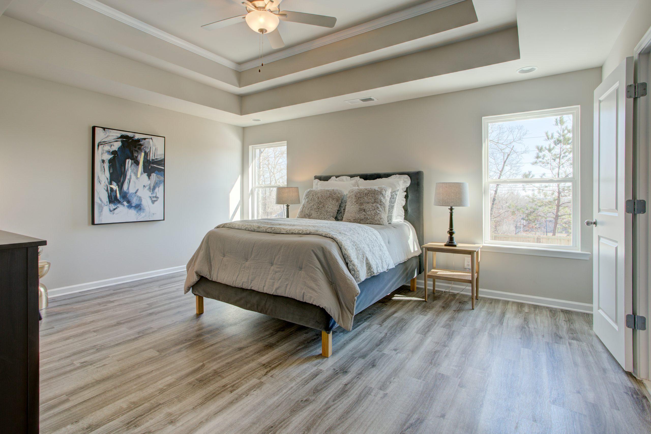 Master bedroom in Covington Georgia